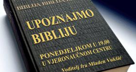 Najava: Biblijski susreti u vjeronaučnom centru