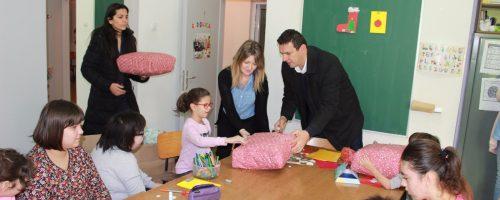Darovi za Udrugu civilnih invalida i Odjel za djecu s posebnim potrebama