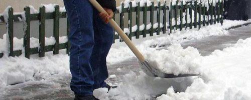 Obavijest stanovništvu o čišćenju snijega i leda oko objekata