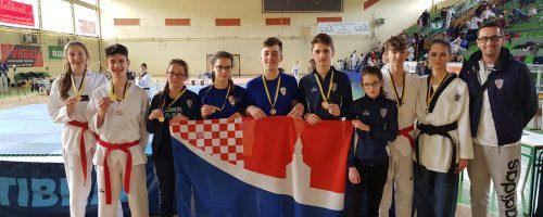 Nove medalje Poskoka na međunarodnom taekwondo turniru