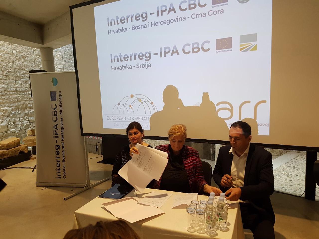 """Potpisan ugovor za projekt """"COMPETE PLAMET"""" u okviru programa Interreg IPA prekogranične suradnje Hrvatska"""