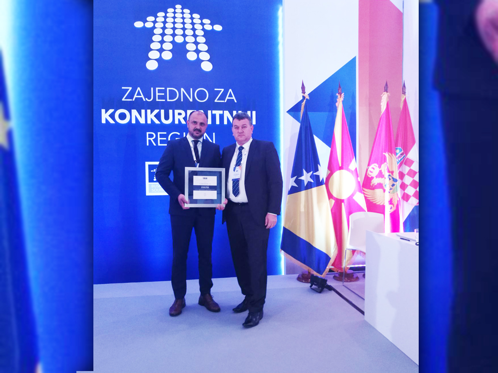 """Svečana ceremonija dodjele certifikata za BFC SEE općine i gradove """"Zajedno za konkurentniju regiju"""""""