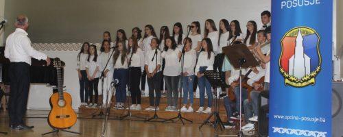 """Godišnji koncert učenika Osnovne glazbene škole """"Posušje"""""""