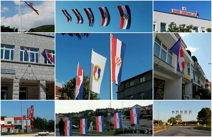 Posušje ukrašeno zastavama ususret Dana Općine