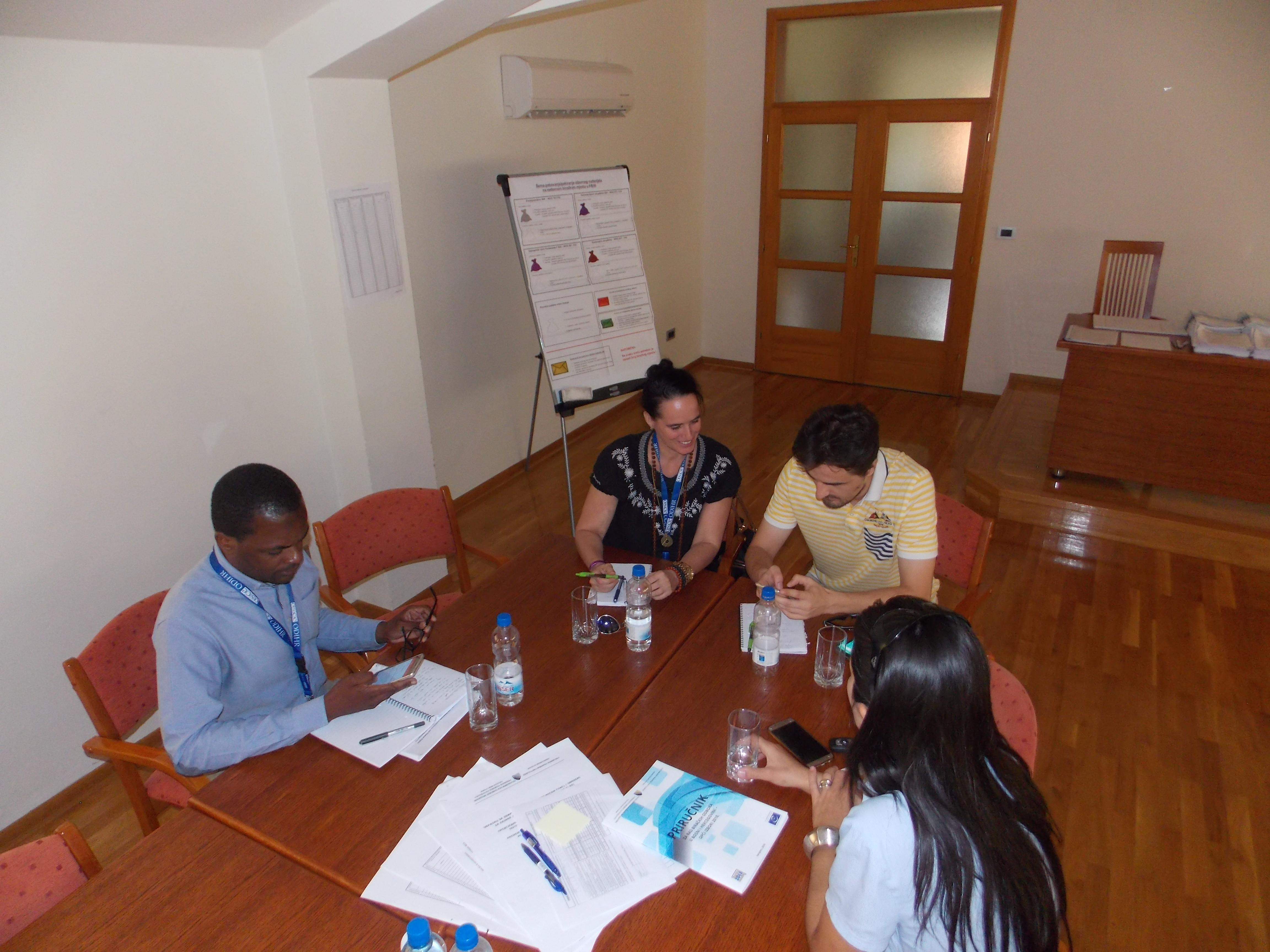 Članovi Izborne promatračke misije OSCE-a u posjetu Općini Posušje