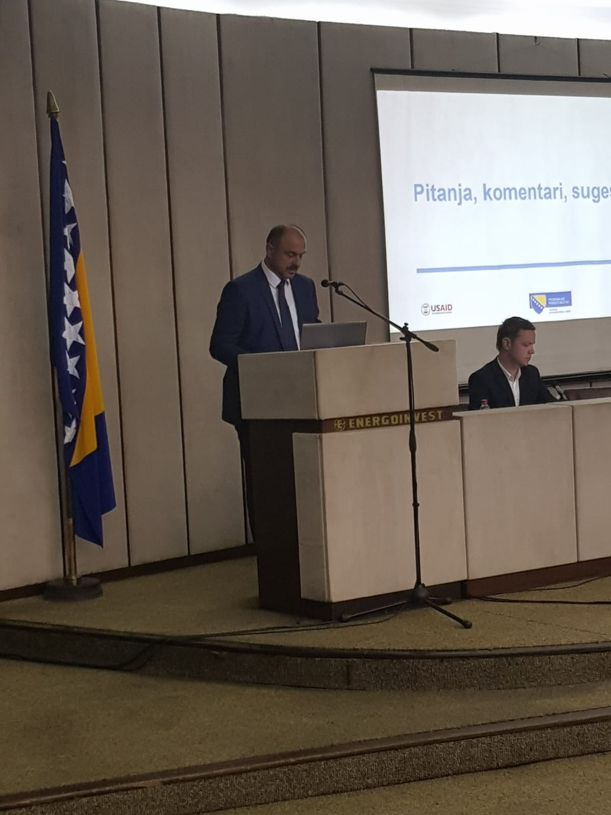 Održana promocija projekta 'Izrada informacijskog sustava s web portalom poslovnih zona u Federaciji BiH'.