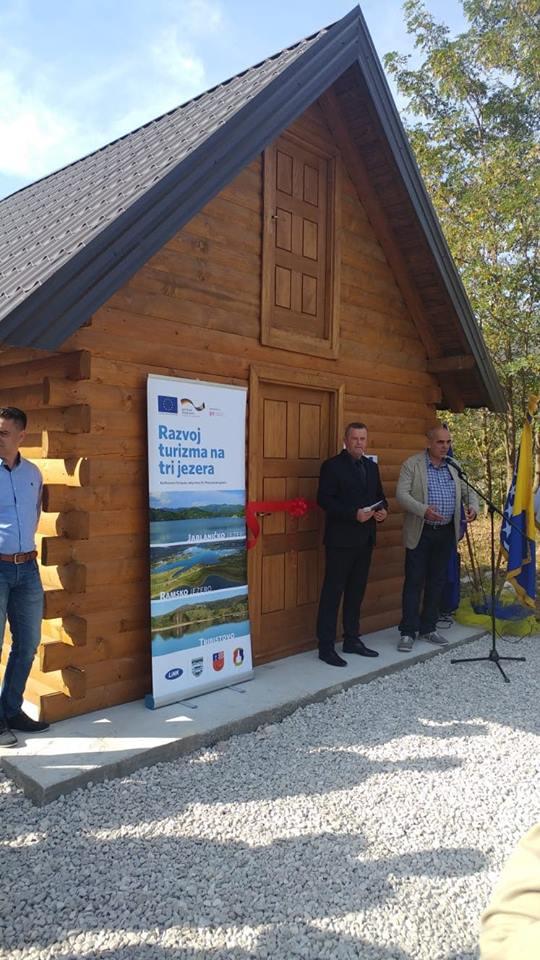 Jablaničko, Ramsko i jezero u Tribistovu danas dobili info punkt