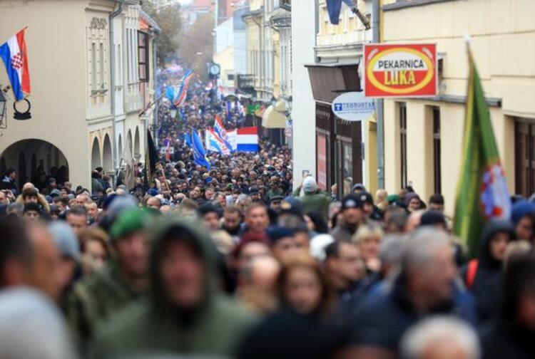 Sjećanje na Vukovar, Škabrnju te utemeljenje HZHB
