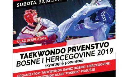 PRVENSTVO BOSNE I HERCEGOVINE U TAEKWONDOU
