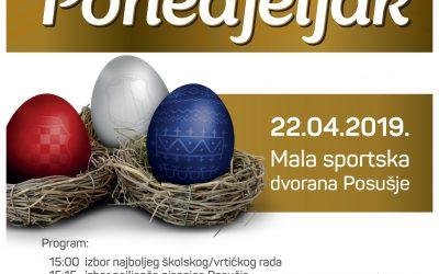 Najava blagdanskog druženja Uskrsni ponedjeljak