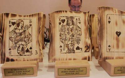 Dubrovčani slavili na 4. memorijalnom turniru bridža u Posušju