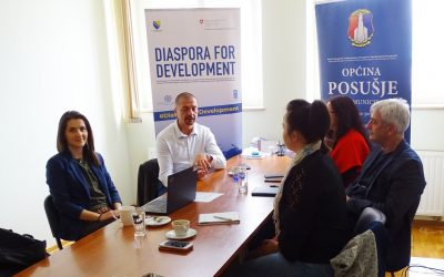 #DijasporazaRazvoj: ADMINISTRATIVE, BUSINESS AND COMMUNAL SERVICES FOR CITIZENS OF POSUSJE ABROAD ELECTRONICALLY AVAILABLE IN 2019
