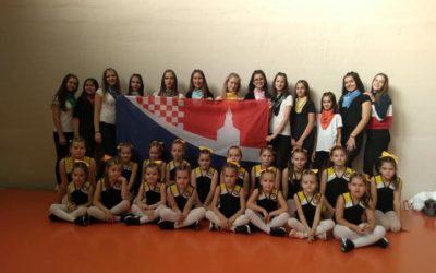 Uspješan vikend je za našim cheerleadersicama u Splitu