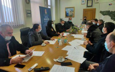 Održana prva sjednica Općinskog stožera CZ općine Posušje