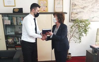 Sastanak načelnika Begića s federalnom ministricom Zorom Dujmović